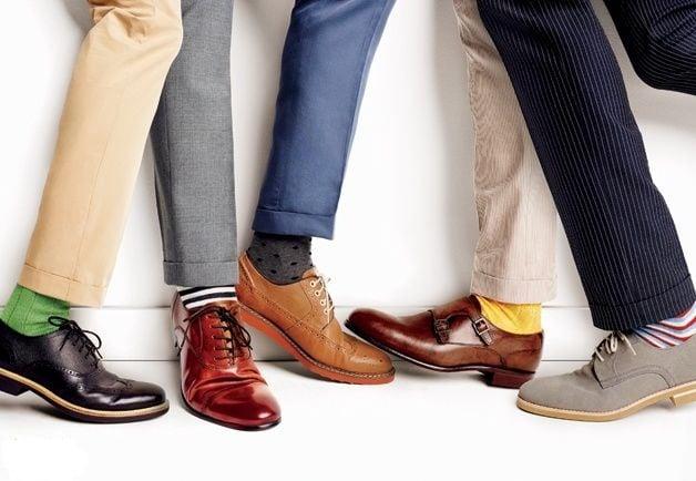 Những nguyên tắc cơ bản về Giày và Tất nam không thể bỏ qua